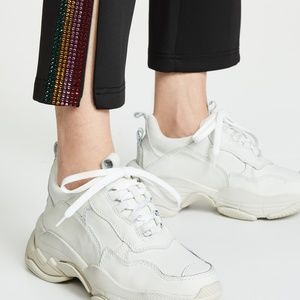 Jeffrey Campbell Lo-Fi Sneakers in Off-White
